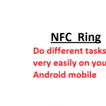 NFC Ring – Wonderful Ring to control your Android device