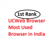 UCWeb – Now the Most Used and Best Mobile Browser in India