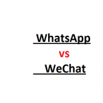 Competition Between WhatsApp and WeChat Increasing