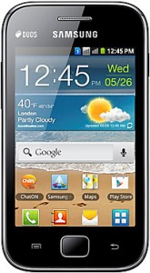 Galaxy Ace Duos - Now within Rs 8000