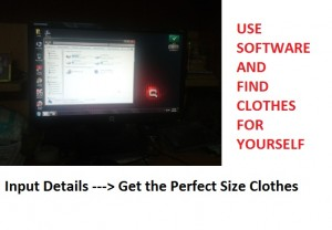 In future you shall be able to find perfect clothes using software