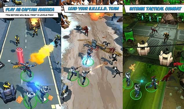 captain america 2 games free download