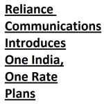 RCom Launches One India, One Rate Plans for Postpaid & Prepaid
