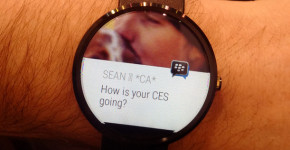 BBM for Android Wear Smartwatches