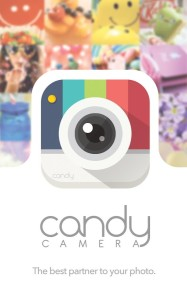 Candy Camera App for Android to Beautify Photos