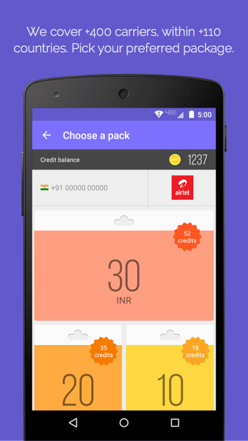 TextMe Launches Recharge Me for Android: Send Mobile Top-Up