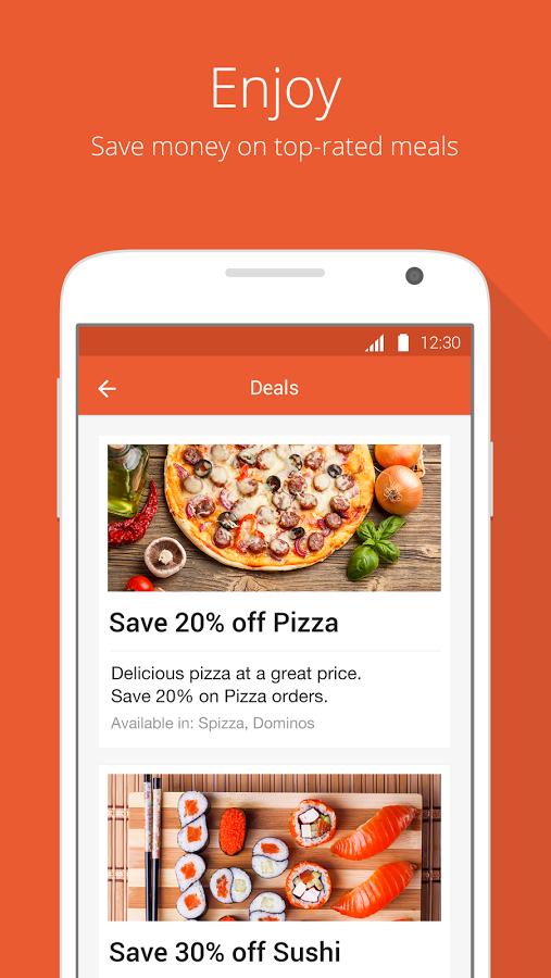 mobile ordering apps for restaurants