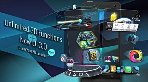 Free Android Launchers with 3D Themes