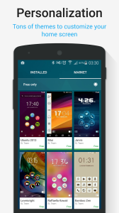 Smart Launcher 3 for Android Smartphones