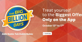 Flipkart Big Billion Days Sale Offers and CashBack