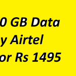 Airtel Launches Special 90 Days 4G Internet Pack at Rs 1495