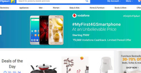 Vodafone Flipkart MyFirst4GSmartphone Campaign